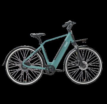 Qwic e-bike urban r1 turquoise Elektrische fiets heren