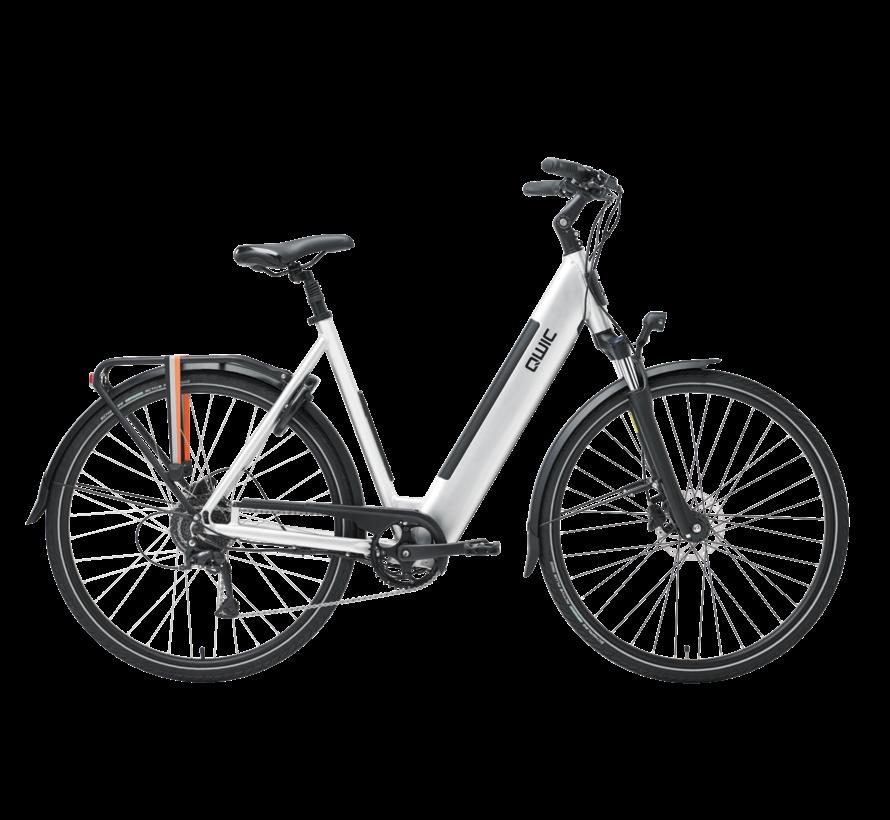 e-bike urban rd9 brushed aluminum Elektrische fiets dames