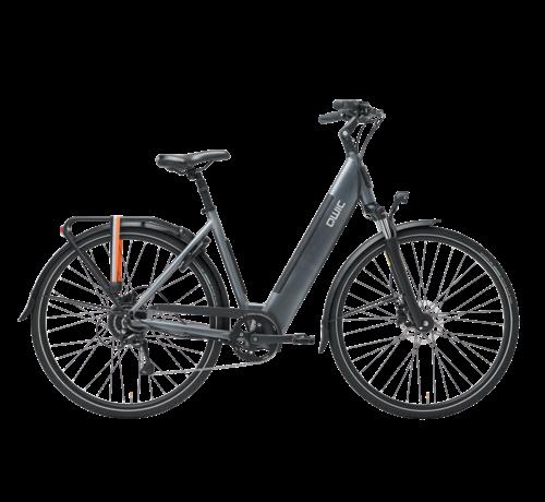 Qwic e-bike urban rd9 stone grey Elektrische fiets dames