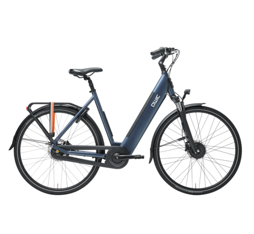 Qwic e-bike urban fn7 midnight blue Elektrische fiets dames
