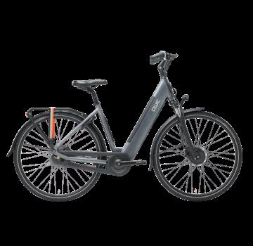 Qwic e-bike urban fn7 stone grey Elektrische fiets dames