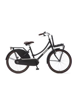 Popal Daily Dutch Basic 24 Meisjesfiets mat zwart