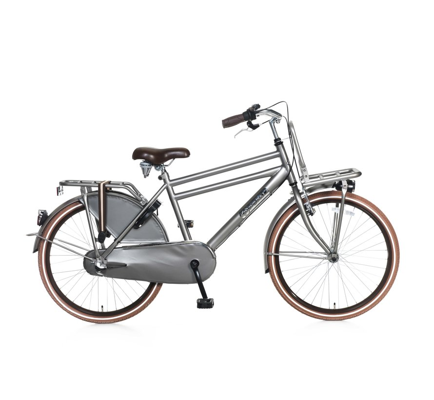Daily Dutch Basic 24+ Jongensfiets titanium