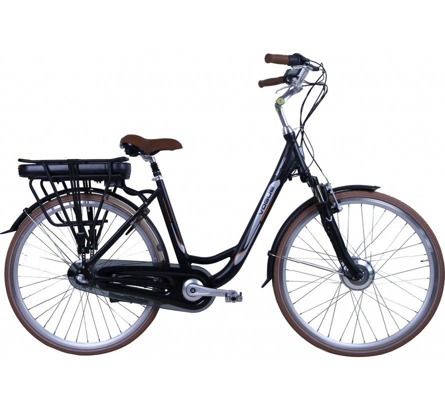 basic 3v e-bike Elektrische fiets dames zwart/bruin
