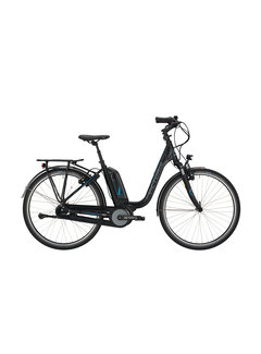 Victoria etrekking 7.4h black matt/blue glossy 2020 Elektrische fiets dames