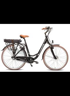 Vogue basic 7v e-bike  Elektrische fiets dames zwart/bruin
