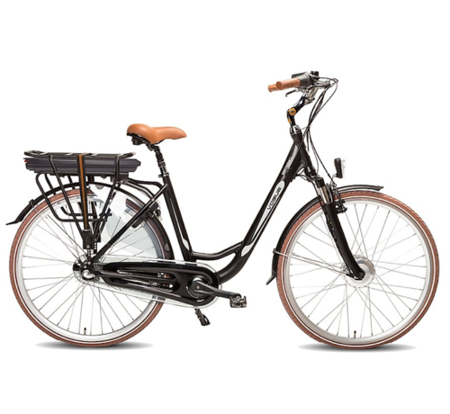Vogue basic e-bike 7v  Elektrische fiets dames zwart/bruin