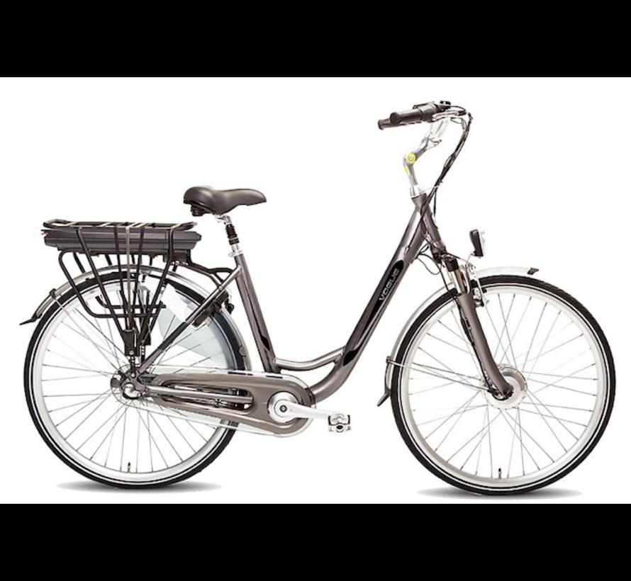 basic e-bike 3v  Elektrische fiets dames grijs