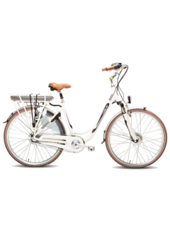 Vogue basic 3v e-bike  Elektrische fiets dames  creme