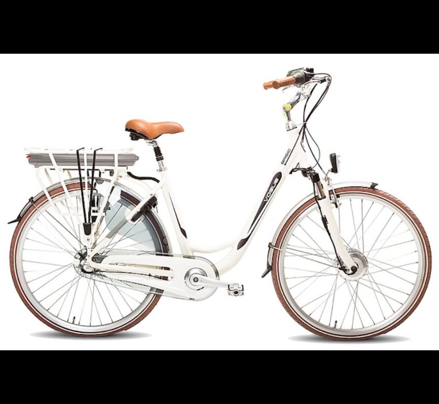 basic e-bike 3v  Elektrische fiets dames  creme