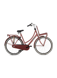Popal Daily Dutch Basic+ Damesfiets red
