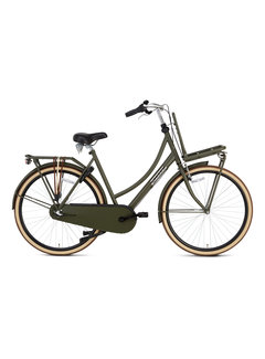 Popal Daily Dutch Basic+ Damesfiets army green