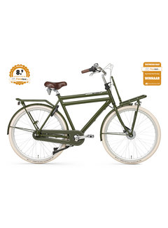 Popal Daily Dutch Prestige N3RB Heren Transportfiets groen