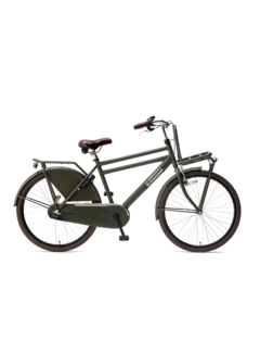 "Popal Daily Dutch Basic+ 26"" transportfiets army green"