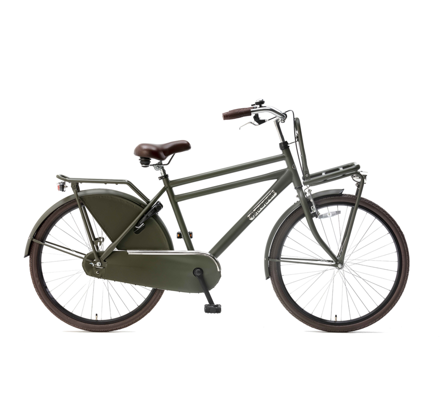 "Daily Dutch Basic 26"" transportfiets army green"