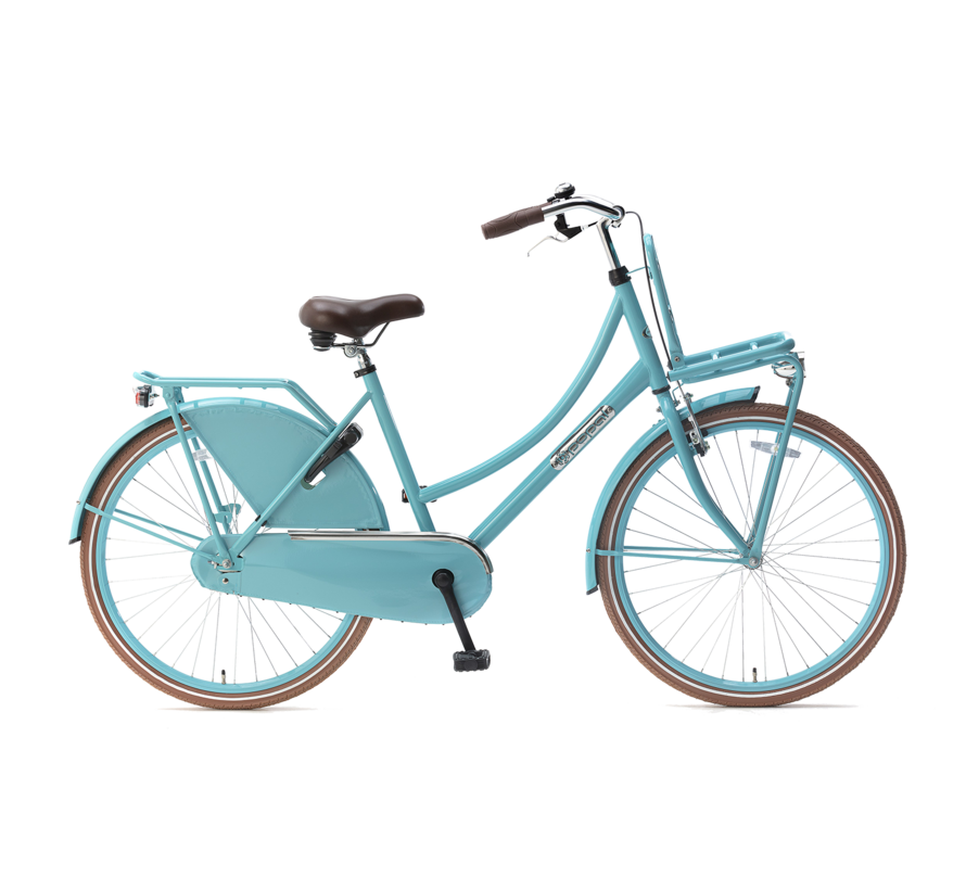 Daily Dutch Basic 26 Meisjesfiets turquoise