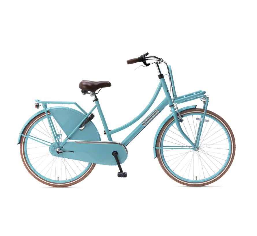 Daily Dutch Basic+ 26 Meisjesfiets turquoise