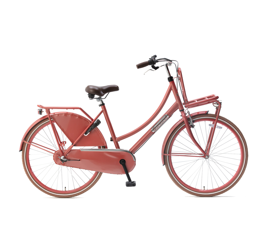 Daily Dutch Basic+ 26 Meisjesfiets flamingo