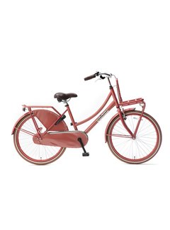 Popal Daily Dutch Basic 24 Meisjesfiets flamingo
