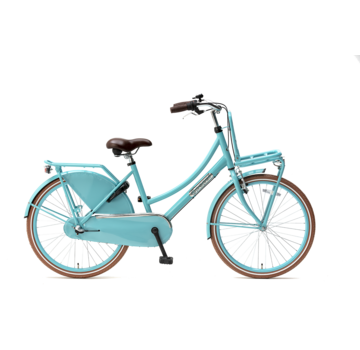Popal Daily Dutch Basic+ 24 Meisjesfiets turquoise
