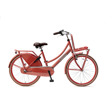 Popal Daily Dutch Basic+ 24 Meisjesfiets flamingo