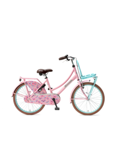 Popal Daily Dutch Basic 22 Meisjesfiets roze