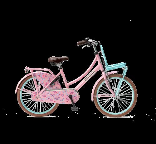Popal Daily Dutch Basic 22 Meisjesfiets roze