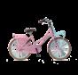 Daily Dutch Basic+ 22 Meisjesfiets roze