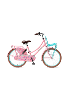Popal Daily Dutch Basic 20 Meisjesfiets roze