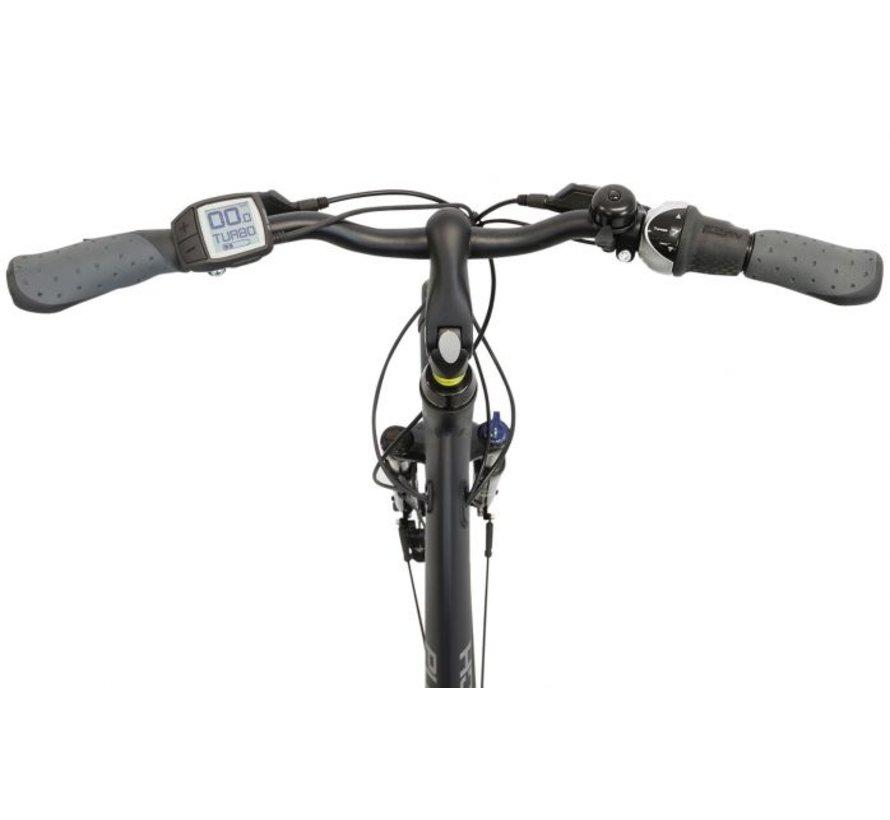 Stadtrad e Elektrische fiets Dames Coal Black Matt