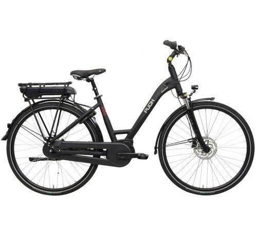 Puch Stadtrad e Elektrische fiets Dames Coal Black Matt