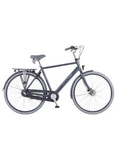 Puch Hands Up! S  Stadsfiets Heren Zinq Grey Matt