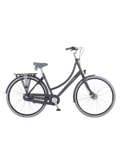 Puch Hands Up! S  Stadsfiets Dames Vulcan Black Matt