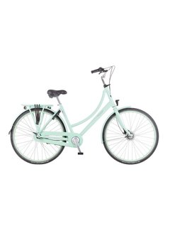 Puch Hands Up! S Stadsfiets Dames Pastel Green Gloss