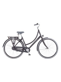 Puch Hands Up! Stadsfiets Dames Vulcan Black Matt