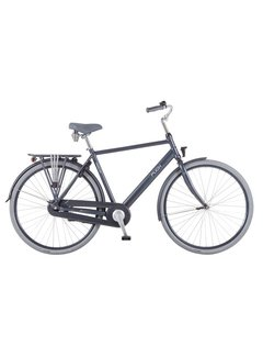Puch Hands Up! Stadsfiets Heren Zinq Grey Matt