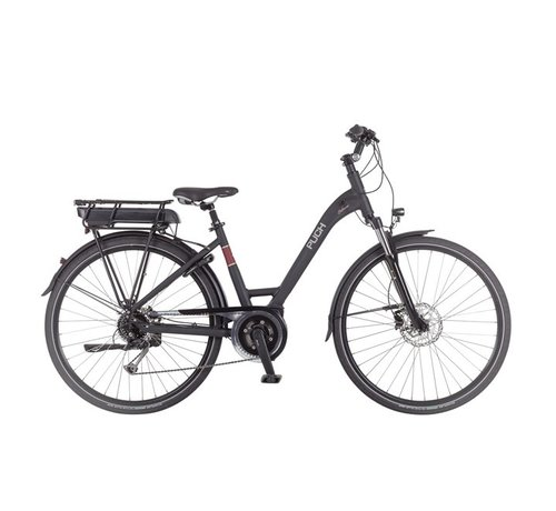 Puch Clubman I  Elektrische fiets Dames Black Matt