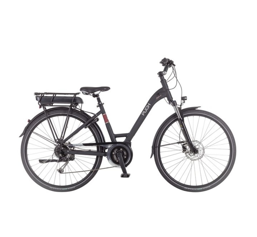 Clubman I  Elektrische fiets Dames Black Matt