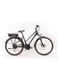 Puch Clubman II  Elektrische fiets Dames Black Matt