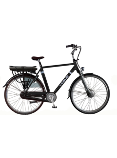 Vogue Premium e-bike heren Matt Black-Black