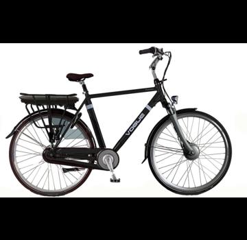 Vogue Premium e-bike heren Matt Black-Black