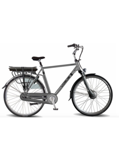 Vogue Premium e-bike heren Matt Grey
