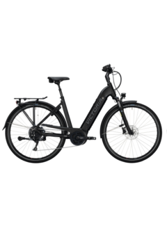 Victoria E-trekking 12.8 dames e-bike deep black matt