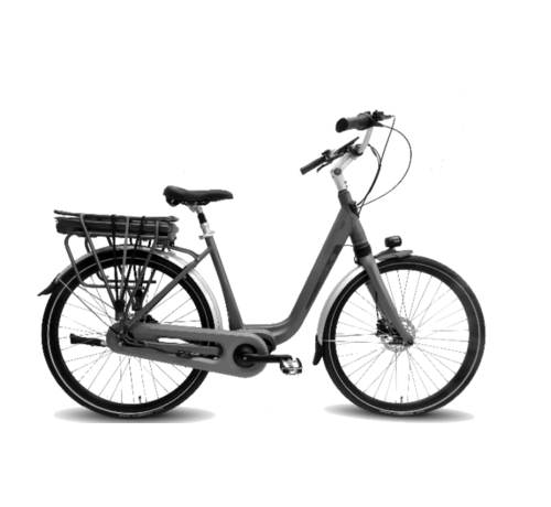 Vogue Mio 8sp Bafang e-bike dames Matt Grey