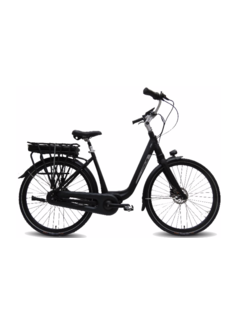 Vogue Mio 8sp Bafang e-bike dames Matt Black