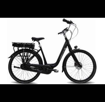 Vogue Mio 8sp Bafang e-bike dames Matt Black