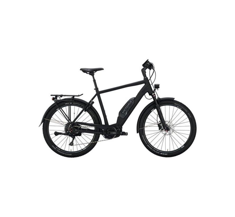 eAdventure 8.8 deep black matt/anthracite  Elektrische fiets