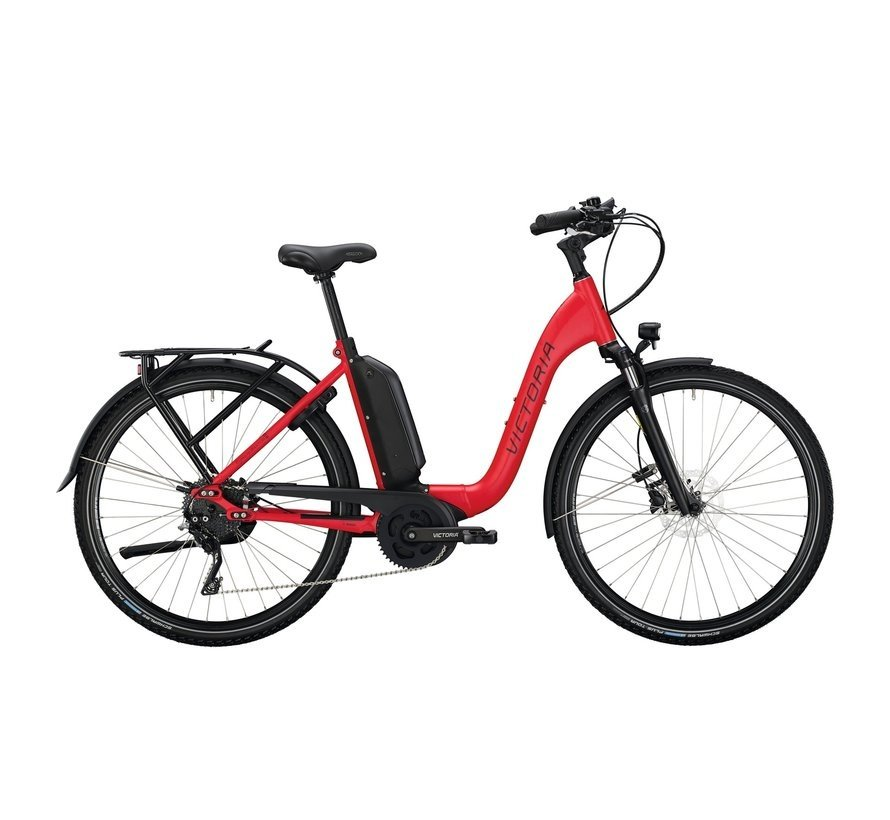 eManufaktur 10.8  red /black  Elektrische fiets