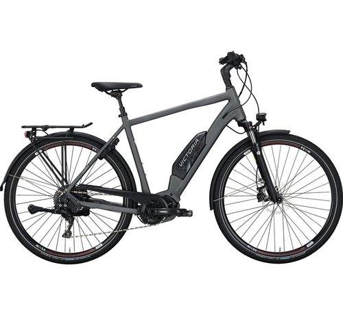 Victoria eTouring 8.9  grey matt/red  Elektrische fiets