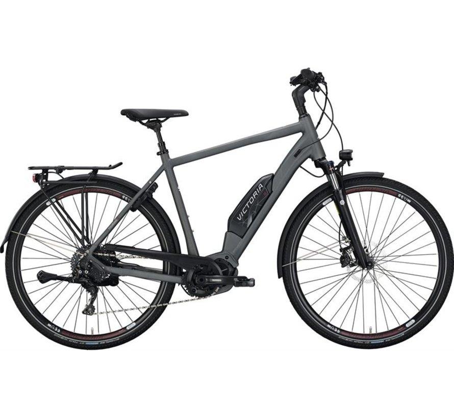 eTouring 8.9  grey matt/red  Elektrische fiets